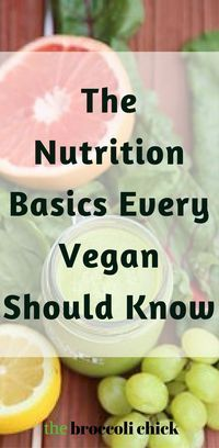 The nutrition basics you need to know to live a healthy vegan lifestyle.