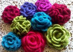 Roos voor op potje, gratis patroon van Lindevrouwsweb