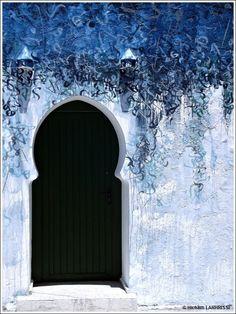 Asilah #blue #portal front door :)