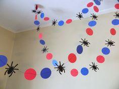Spiderman Garland Spider-Man banner by anyoccasionbanners