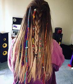 Braids Rasta Wraps 39 Ideas For 2019 # rasta Braids frisuren Bohemian Hairstyles, Dreadlock Hairstyles, Summer Hairstyles, Braided Hairstyles, Black Hairstyles, Wedding Hairstyles, Thread Hair Wraps, Hair Threading, Festival Hair