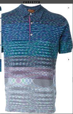 351fe403 Mens Designer Polo Shirts, Printed Polo Shirts, Striped Knit, Missoni,  Latest Mens