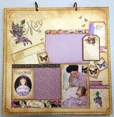 Place In Time May Layout - Scrapbook.com
