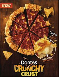 Doritos Crunchy Crust Pizza – Latin America and South Pacific Pizza Hut