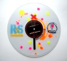 Eric Orr's Custom Clear Vinyls and labels in collaboration with Serato