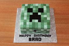 Minecraft Creeper Cake - CakeCentral.com