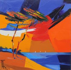 Violet Evergarden Wallpaper, Art Et Nature, Pins, Contemporary Abstract Art, Seascape Paintings, Art Challenge, Art Design, Oeuvre D'art, Art Pieces