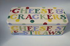 Emma Bridgewater New Polka Dot Design Cracker Tin or Biscuit Tin / Lunch Box
