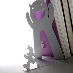 A dynamic bookend to fit your robust library of literature. Everything from Rousseau to Rowling.