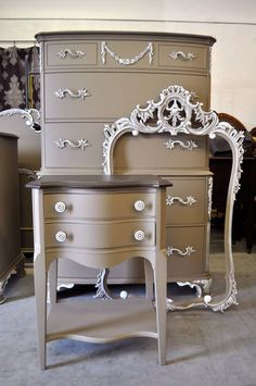 Love This Colour By Vintage Charm And Restoration Https Www Paint Furniturefurniture Refinishingrefinished