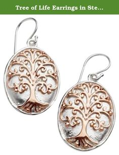 Tree of Life Earrings in Sterling Silver and Copper 6583. Ornamental ironwork in the 18th and 19th centuries reflected the influence of blacksmiths who gorged art into gates, grilles and balconies. The Southern Gates Collection is reminiscent of the art in that ironwork. This Southern Gates Jewelry is a tribute to the skills of artisans in the past who wrought beauty from the iron in their forges. The intricate scroll designs show as well in sterling silver as they do in decorative ironwork.