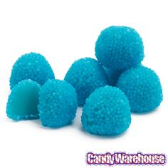 Bumplettes Blue Raspberry Beaded Gumdrops Candy