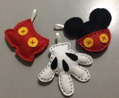 Chaveiros Mickey Feltro