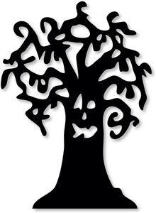Halloween Baum zum Plotten von Silhouette I think I'm in love with this shape from the Silhouette Online Store!