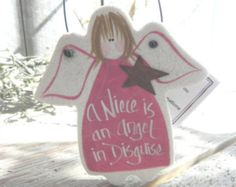 Niece Gifts Personalized Salt Dough Ornaments Etsy :: Your place to buy and sell all things handmade