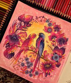 MAGICAL JUNGLE . #florestaencantada #florestaencantada2 @inspiracaojardimsecreto #jardinsecret #jardimdascores #jardimsecreto #nossojardimsecreto #coloringbook #coloriageantistress @lostoceancolors #colorindolivrostop #livrocoloriramo @desenhoscolorir #moncoloriagepouradultes #coloriageantistress #antistress #coloriagepouradulte #hachette #animorphia @nossojardimcolorido @johannabasford #jardimdascores #feutres #crayons #wip #artecomoterapia #coloring_secrets #kleurenvoorvolwassenen ...