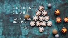 Poh's One Bite Mince Pies - Harris Scarfe Christmas Baking, Family Christmas, Mince Pies, First Bite, Appetisers, Moorish, Xmas Ideas, Holiday Treats, Scones
