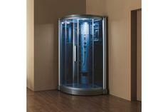 "Eagle Bath WS-801L 42"" Steam Shower Enclosure Unit (110v ETL Certified)"