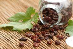 Limpieza y desitoxicación del hígado con uvas pasas