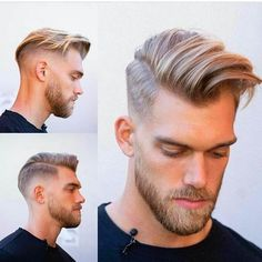 Haircuts for Man Schnitte, Ideen und Trends - Bkn Medya Mens Haircuts Short Hair, Quiff Hairstyles, Cool Hairstyles For Men, Glasses Hairstyles, Hair And Beard Styles, Curly Hair Styles, Gents Hair Style, Men Hair Color, Beard Model