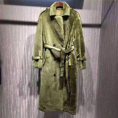 Faux Fur Coat... the perfect color!