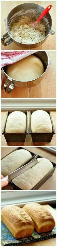 Simple white sandwich bread