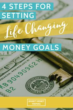Have you set money goals for Have you done the work to make sure that they are (a) the right goals for you and (b) goals you can stay motivated about and actually achieve? Tap to learn how to set meaningful financial goals you can actually achieve. Ways To Save Money, Make More Money, Money Tips, Money Saving Tips, Budgeting Finances, Budgeting Tips, Financial Goals, Financial Planning, Goal Tracking