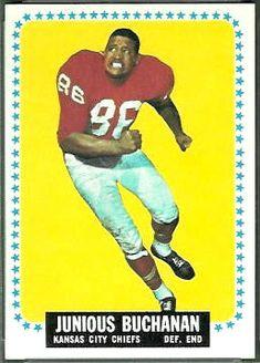 1964 Topps Junious Buck Buchanan Kansas City Chiefs #hof #rookie