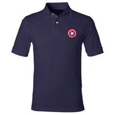 Captain America Polo Shirt