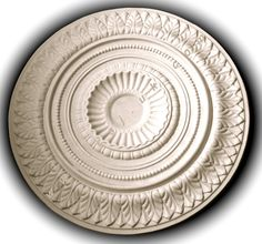 CP28 Water Leaf / Bead / 660mm - Plaster Ceiling Roses & Cornice At CSJ Fibrous Plasterers Ltd