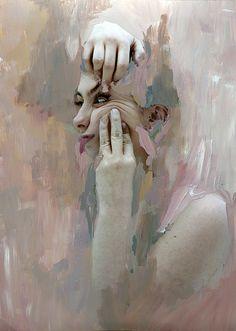 Rosanna Jones #painting #girl #portrait #fine #arts