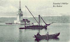 İstanbul kız kulesi 1900'ler.