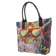 500 Skull Party Tote Bag - Iron Fist Alternative clothing