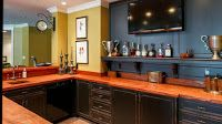 Beautiful Bar in American Luxury House Luxury Homes, Liquor Cabinet, The Unit, Bar, American, House, Furniture, Beautiful, Home Decor