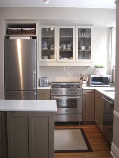 If I could re-do my apartment kitchen this would be one of the options.