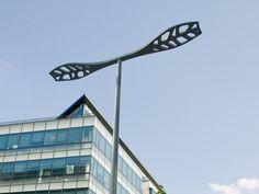 LED aluminium street lamp ALOA by ECLATEC   design Jean-Michel Wilmotte