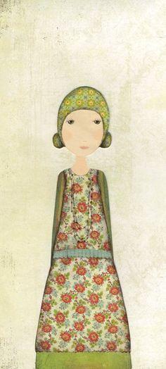 katherine quinn   LOVELY ART ** / Cousin Ivy. Katherine Quinn.