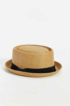Straw Porkpie Hat - Urban Outfitters