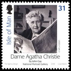 Literary Stamps: Christie, Agatha (1890-1976)