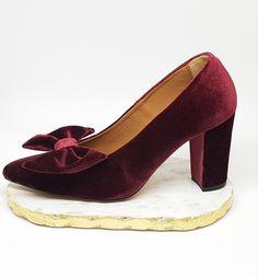 Sapatos de salto compensado Bordeaux SENHORA   H&M PT