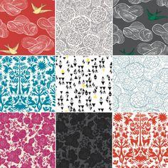 Cool Idea: Removable Wallpaper Tiles