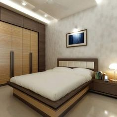 Interior designer in thane modern bedroom design, contemporary bedroom, indian bedroom design, wardrobe Indian Bedroom Design, Luxury Bedroom Design, Bedroom Furniture Design, Master Bedroom Design, Luxury Interior, Interior Design, Wardrobe Door Designs, Wardrobe Design Bedroom, Bedroom False Ceiling Design