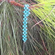 GENUINE Turquoise Bracelet Healing Crystal by mysticalstore