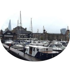 Day 1 back to work and I've lost my oyster card forgotten my computer login and am in a general state of haziness. But I made it in on time had a full night's sleep and even kind of smiling #londonlife #lovelondon #londonshard #stkatherinesdock #wapping #towerhill #londoner #yachts #dockside #theshard #vvibeslondon #walkytalkybuilding by msviviann