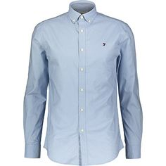 Blue Embroiderd Shirt