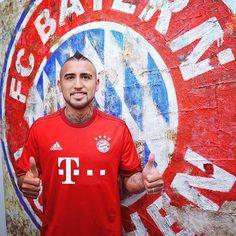 「#Vidal signs for #BayernMunchen 」