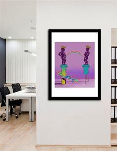 """Rainbow"", Limited Edition Fine Art Print by Andrey Flakonkishochki - From $45.00 - Curioos"