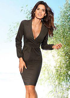 Heine V-Neck Dress | Dresses | Fashion | Kaleidoscope