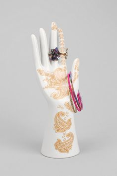 Magical Thinking Henna Ring Holder #urbanoutfitters -Pretty and very useful. Love it!