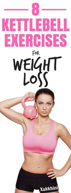 These 8 kettlebell exercises will turbo-charge your metabolism sculpt your entire body target stubborn fat and give you a toned streamlined appearance. You'll be surprised at how easy these kettlebell exercises are to master making them perfect if you Fitness Workouts, Exercise Workouts, Exercise Routines, Training Workouts, Workout Tips, Weight Training, Fitness Games, Kids Fitness, Fat Workout